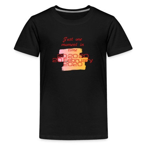 One moment in time - Teenager Premium T-shirt