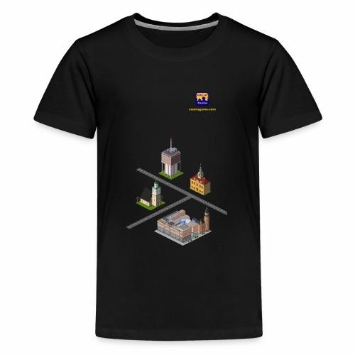 Rauma Game Mix - Teenage Premium T-Shirt