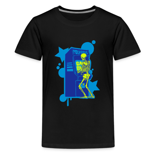 Hi-Score Blue - Koszulka młodzieżowa Premium