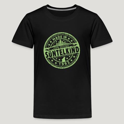 SÜNTELKIND 1993 - Das Süntel Shirt mit Süntelturm - Teenager Premium T-Shirt