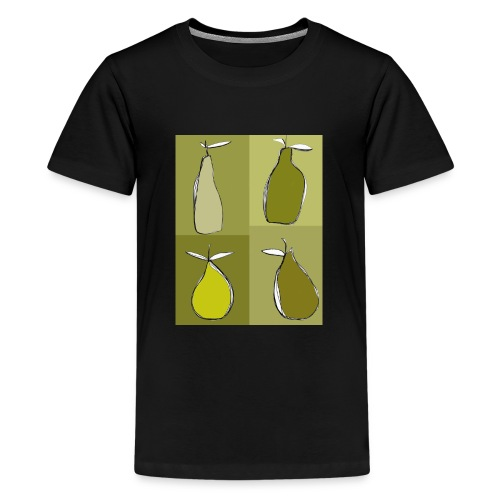 green pears - T-shirt Premium Ado