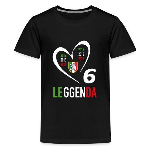 LE6GENDA - Maglietta Premium per ragazzi