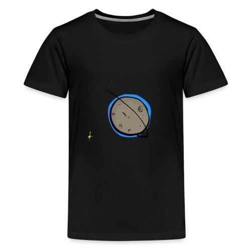#Moon - T-shirt Premium Ado
