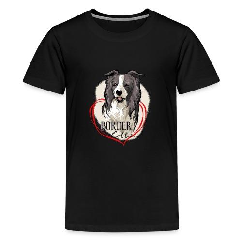 Border Collie - Teenager Premium T-Shirt