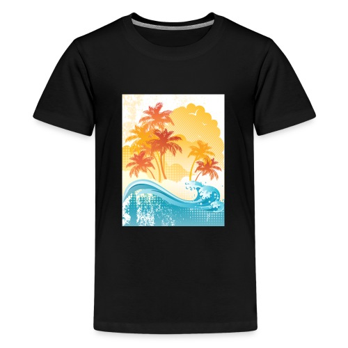 Palm Beach - Teenage Premium T-Shirt