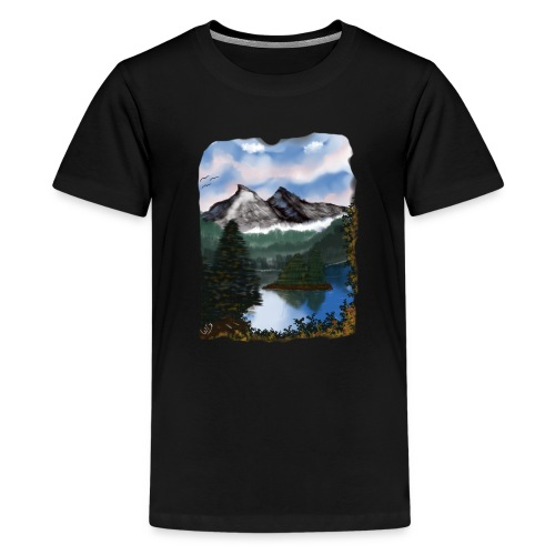 Mystic Mountain - Teenager Premium T-Shirt