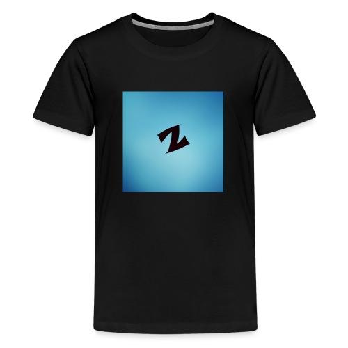 ZyproPlays logo - Teenage Premium T-Shirt