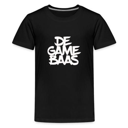 logo groter - Teenager Premium T-shirt