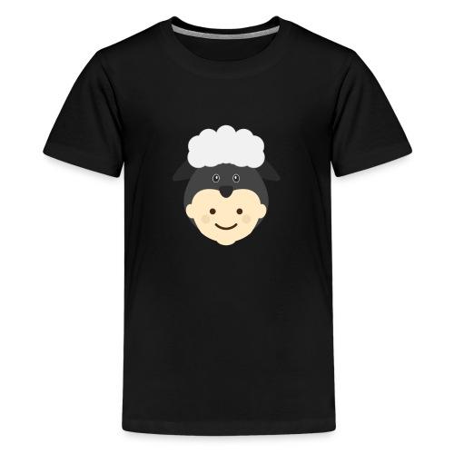 Nancy the Sheep | Ibbleobble - Teenage Premium T-Shirt