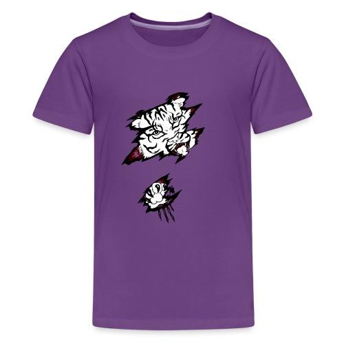 Böser Tiger - Teenager Premium T-Shirt