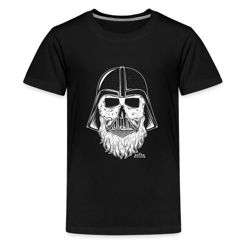 TBD Beard Vader White - Teenager Premium T-Shirt