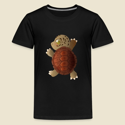 Bébé tortue - T-shirt Premium Ado