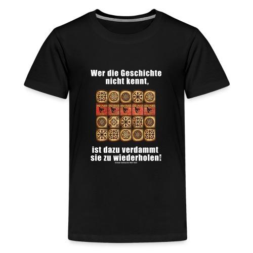71_Geschichte_Lernen - Teenager Premium T-Shirt