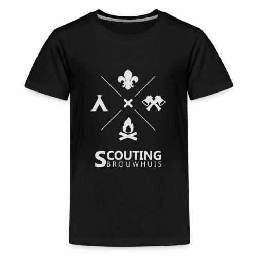 Scouting Brouwhuis - Teenager Premium T-shirt
