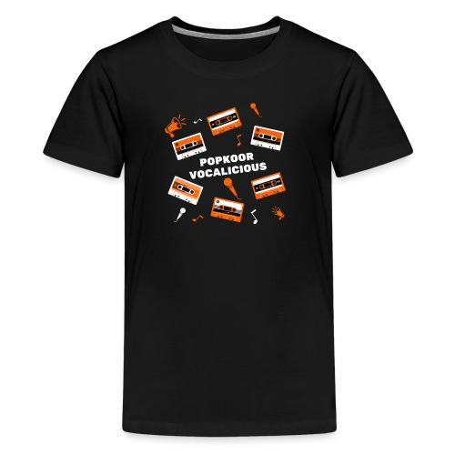 Popkoor Vocalicious - Teenager Premium T-shirt