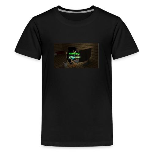 dette er litt utstyr du trenger - Premium T-skjorte for tenåringer