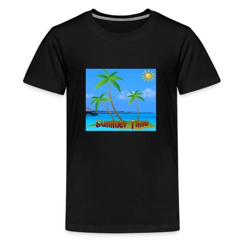 Cool summer coconu - Teenager Premium T-shirt