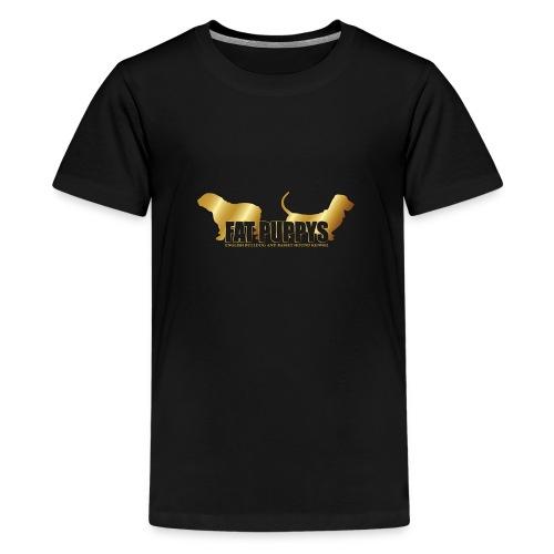 FatPuppys - Camiseta premium adolescente