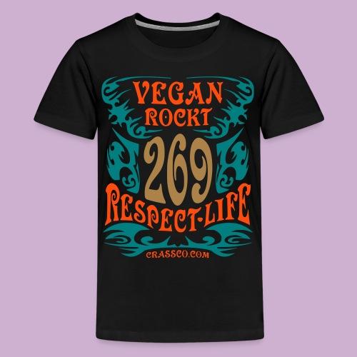 VEGAN TRIBAL - Teenager Premium T-Shirt