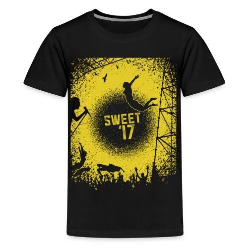 Sweet '17 Festival Summer -gelb - Teenager Premium T-Shirt