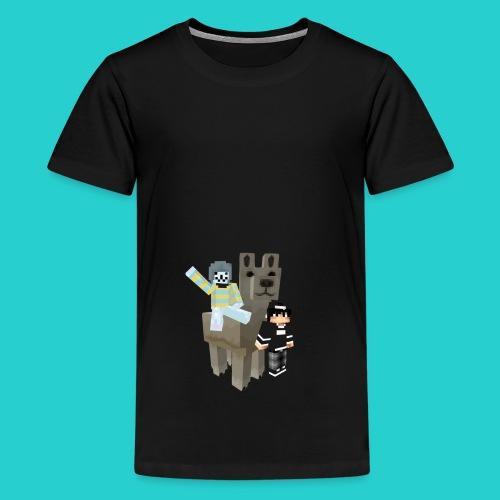 Lama - Teenager Premium T-Shirt