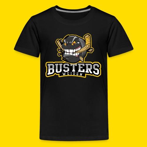 Busters Fun Shirt - ANGRY PUCK - Teenager Premium T-Shirt