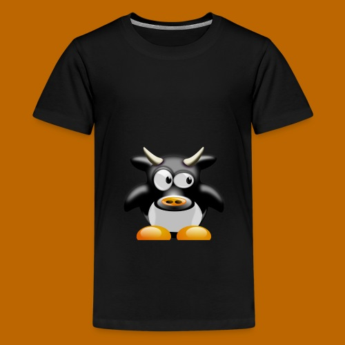 cow-158552_1280 - T-shirt Premium Ado