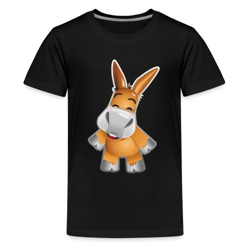 Esel stehend - Teenage Premium T-Shirt