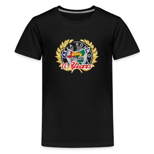 logo10 anni - Maglietta Premium per ragazzi