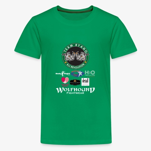 andy murphy back 0617 png - Teenage Premium T-Shirt