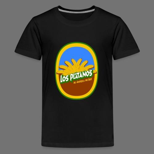 Los Platanos - Teenage Premium T-Shirt
