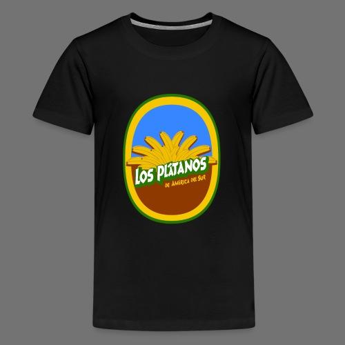 Los Platanos - Teinien premium t-paita