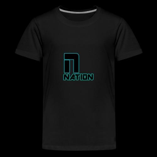 nation - Teenage Premium T-Shirt