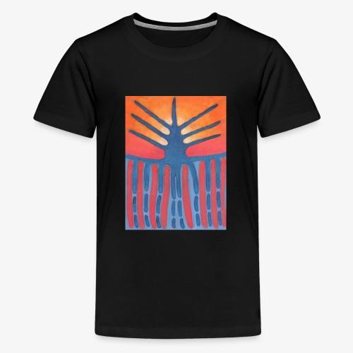 drzewo prehistoryczne 1 - Koszulka młodzieżowa Premium