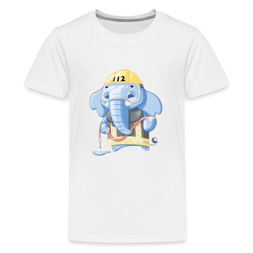 Feuerwehr Elefant - Teenager Premium T-Shirt