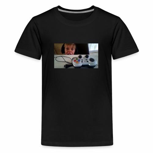 visage stupide de moi - T-shirt Premium Ado