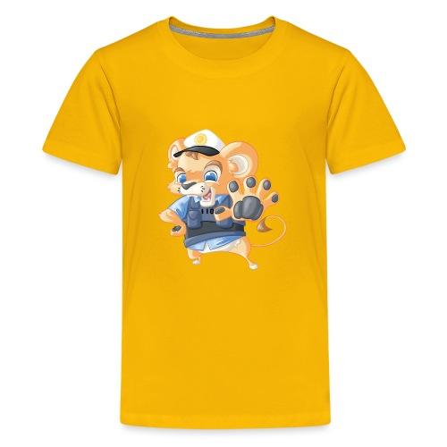 Polizei Löwe - Teenager Premium T-Shirt