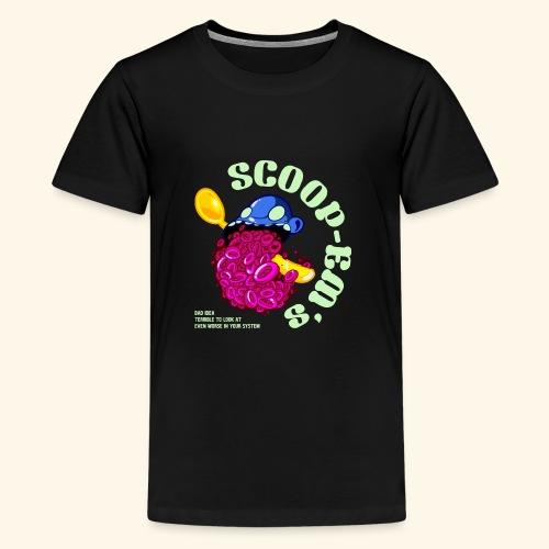 SCOOP EM - Teenage Premium T-Shirt