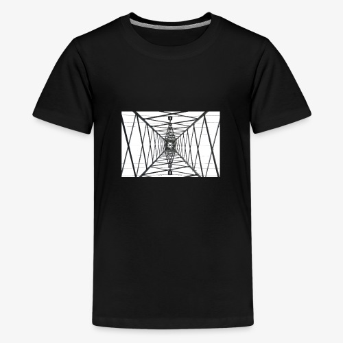 Quermast WhiteBG - Teenager Premium T-Shirt