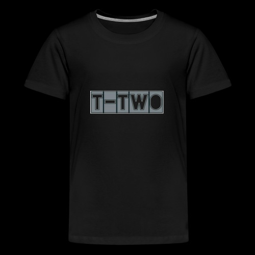 T TWO LOGO - Teenager Premium T-Shirt