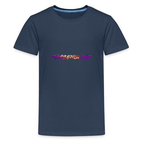 Farbenblind - Teenager Premium T-Shirt