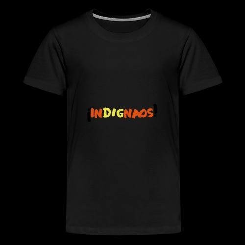 indignaos! - Teenager Premium T-Shirt