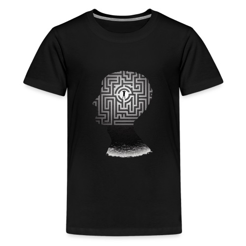 Mind Maze - Teenage Premium T-Shirt