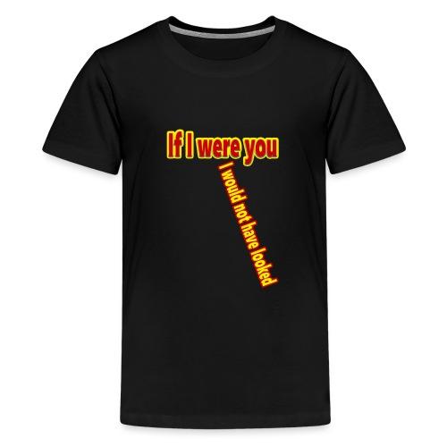 Look - Teinien premium t-paita