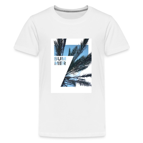 Summertime - Teenager Premium T-shirt