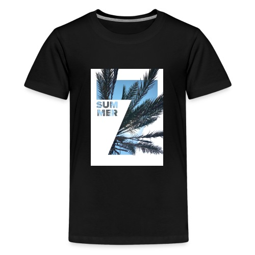 Summertime - Teenager Premium T-shirt