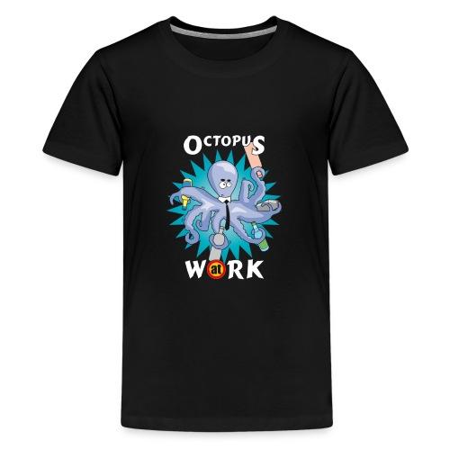 octupusatwork - Maglietta Premium per ragazzi
