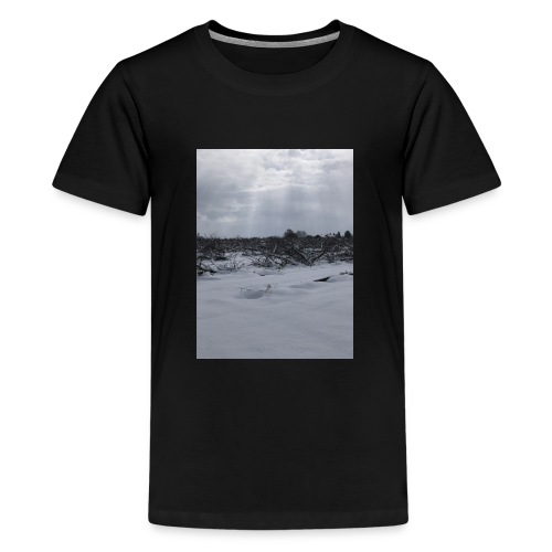 snow for days - Teenage Premium T-Shirt