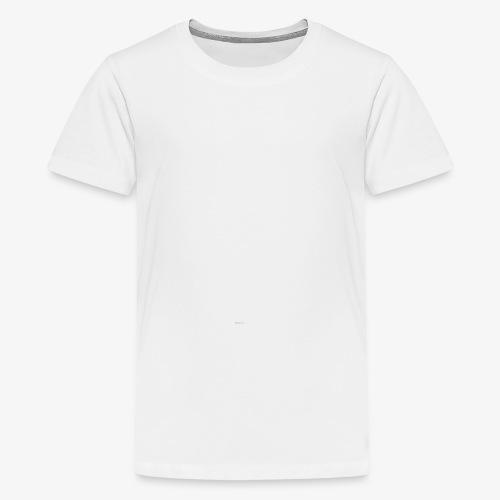 Konsistenz - weiß - Teenager Premium T-Shirt