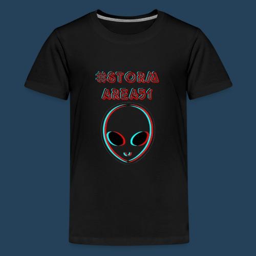 #STORMAREA51 - Teenager Premium T-Shirt